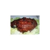 Una Seña Pernil Pata Cerdo Con Panes Y Salsas 830