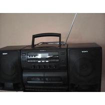 Sony. Minicomponente. Cd Y Cassette