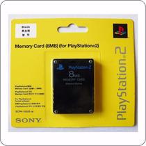 Cartão De Memória Playstation2 8mb Preto Ps2 -