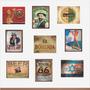Adesivos Em Vinil Antigos Clássicos Vintage Retro 15x21 Cm