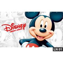 Mickey Mouse Painel 3,00x1,70m Festa Aniversários Decoração