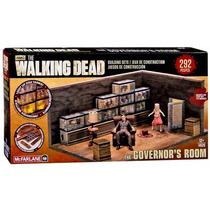 The Walking Dead The Governor´s Room Building Set Mcfarlane