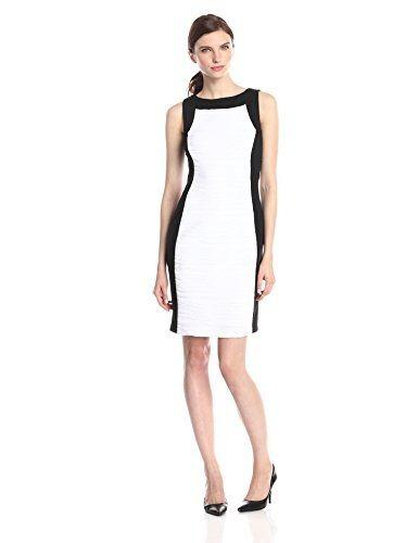 Vestido calvin klein blanco