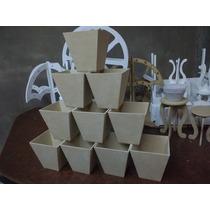 Macetas De Fibrofacil De 10x10 X 10 Unidades Topiarios