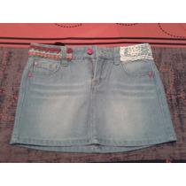Falda Epk Blue Jeans Niña Talla 6