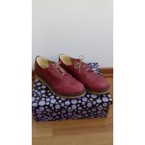 Zapatos 100% Cuero Tipo Mocasin Dama37 Excelente Calidad S/u