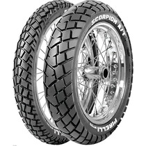 Pneu Tenere250,xre 300 Par Pirelli 90/90-21 120/80-18