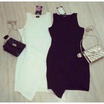 Vestido Corto Negro Con Detalle Dorado Tambien Coral Y Pink