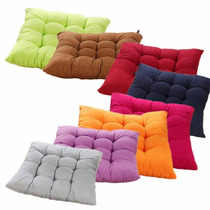 Almofadas Futon Assento Para Cadeiras Kit Com 4 Imperdível!