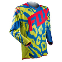Jersey Fox 360 Marz Verde Azul Talla S Motocross Downhill