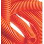 Combo Caño Flexible Naranja+cajas De Luz Pvc