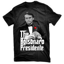 Camisa Camiseta Bolsonaro Presidente Poderoso Chefão