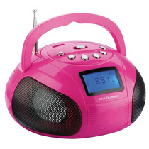 Rádio Boombox Sp146, Reproduz Fm, Mp3 E Usb, Sd - Multilaser