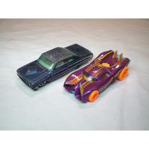 Kit 2 Hot Wheels Antigos Raros Coleção Ano 2007 E Galaxie