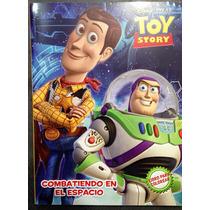 Libro Original De Colorear Y Actividades Toy Story 96 Hojas