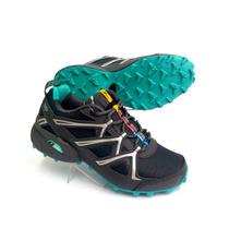 Zapatilla Mujer Trekking Running Knup Col Var Excel Cal 2457