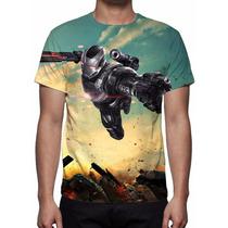 Camisa, Camiseta Guerra Civil - Máquina De Combate
