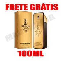 1 One Million 100ml Paco Rabanne - Original - Frete Grátis