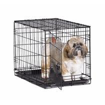 Jaula Para Perro Pequeño Plegable De Metal Blakhelmet Sp