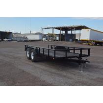 Remolque Nuevo Cama Baja 6000 Kg (6 Ton) Plataforma/traila
