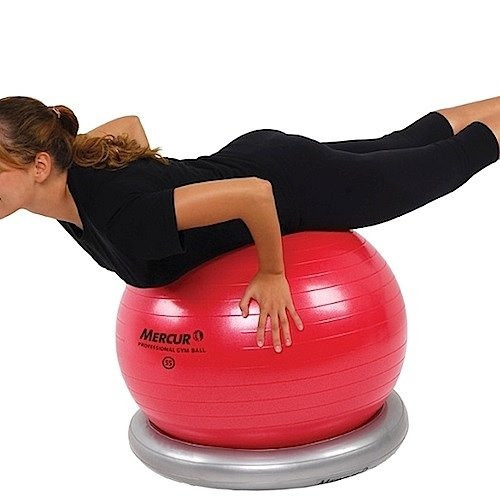 Posicionador Inflável Para Professional Gym Ball - Mercur - R  126 ... 9c286df582654