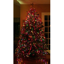 Guirnalda Led Arbol Navidad Luces Colores Efectos Tira Leds