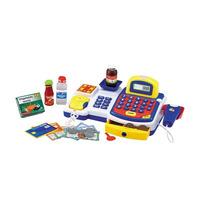 Brinquedo Caixa Registradora Infantil Com Acessórios