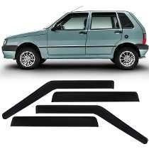 Calha Defletor Chuva Tg Poli Fiat Uno Premio Elba 4 Pts 1991