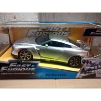 Nissan Skyline Gt-r (r35) 1:24 Rapidos Y Furiosos Jada Toys.