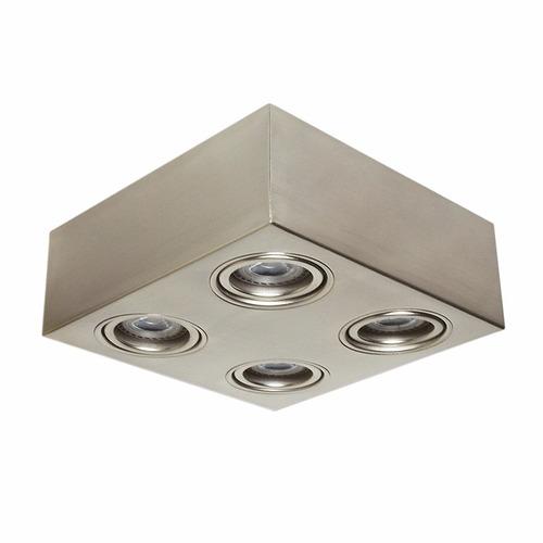 Plafon aplique techo movil acero para dicroica led f1    1.184,00 ...