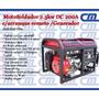 Generador/motosoldador 2.5kw 200a Arranque Remoto