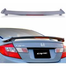 Aerofólio Honda Civic 2012 2013 2014 2015 2016 Sem Pintura