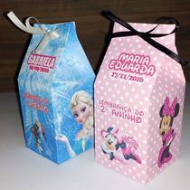 Kit C/ 10 Caixinhas Surpresa Caixa Leite (milk)personalizada