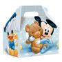 Maleta Kids Médio 10 Un Mickey Baby Disney Original Cromus
