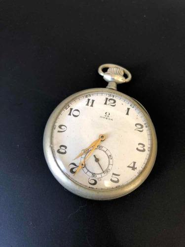 c261408fef6 Relógio De Bolso Antigo Omega - Corda Manual Ano 1915 - R  390