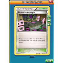 Pokemon Tcg Online - Gimnasio Hormigón - Carta Virtual