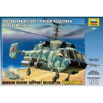 Zvezda Helicoptero Helix B Marine Soviet 1/72 Armar Pintar