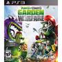 Plantas Vs Zombies Garden Warfare Ps3 Original Físico Disco