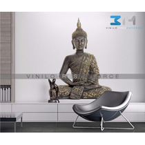 Vinilos Decorativos Orientales Buda 02. Sticker Yoga