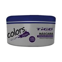 Color Mask Violet Oleo Argan Macadâmia Tigo Cosméticos 300gr