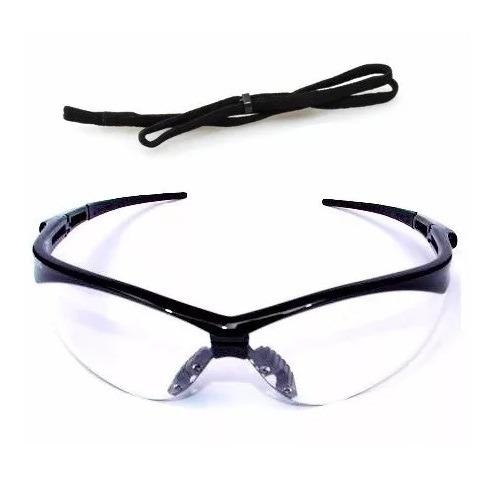 aaf860cfe59cc Óculos Incolor Segurança Esportivo Nemesis Proteção Uv   Ca - R  19,20 em  Mercado Livre
