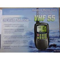 Radio Vhf Marítimo Portátil Novo Na Caixa Com Acessórios