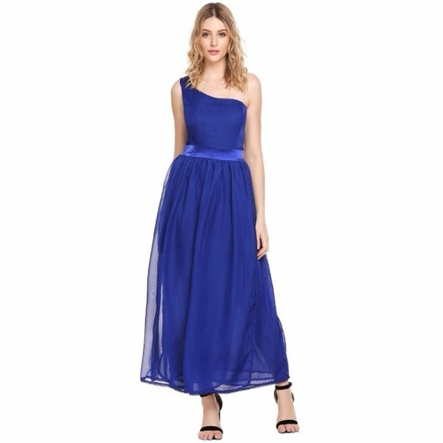 Vestidos de fiesta color azul marino