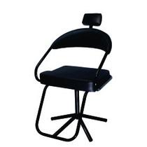 Cadeira Salão De Beleza Slim Preto