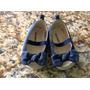 Zapatos Sandalias Marca Old Navy, Niña Usados 6-12 Meses.