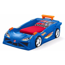 Camita En Forma De Carro Hot Wheels Step 2 Cama