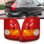 Juego X2 De Faros Traseros Fiat Palio 1997 98 99 2000 2001