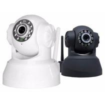 Câmera Ip De Segurança Wireless Sem Fio Vigilância Internet