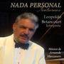 Cd Nada Personal L.betancourt-int-manzanero Regalo Navidad
