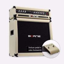 Amplificador Borne Cabeçote Gladiator 1200+caixa 100w